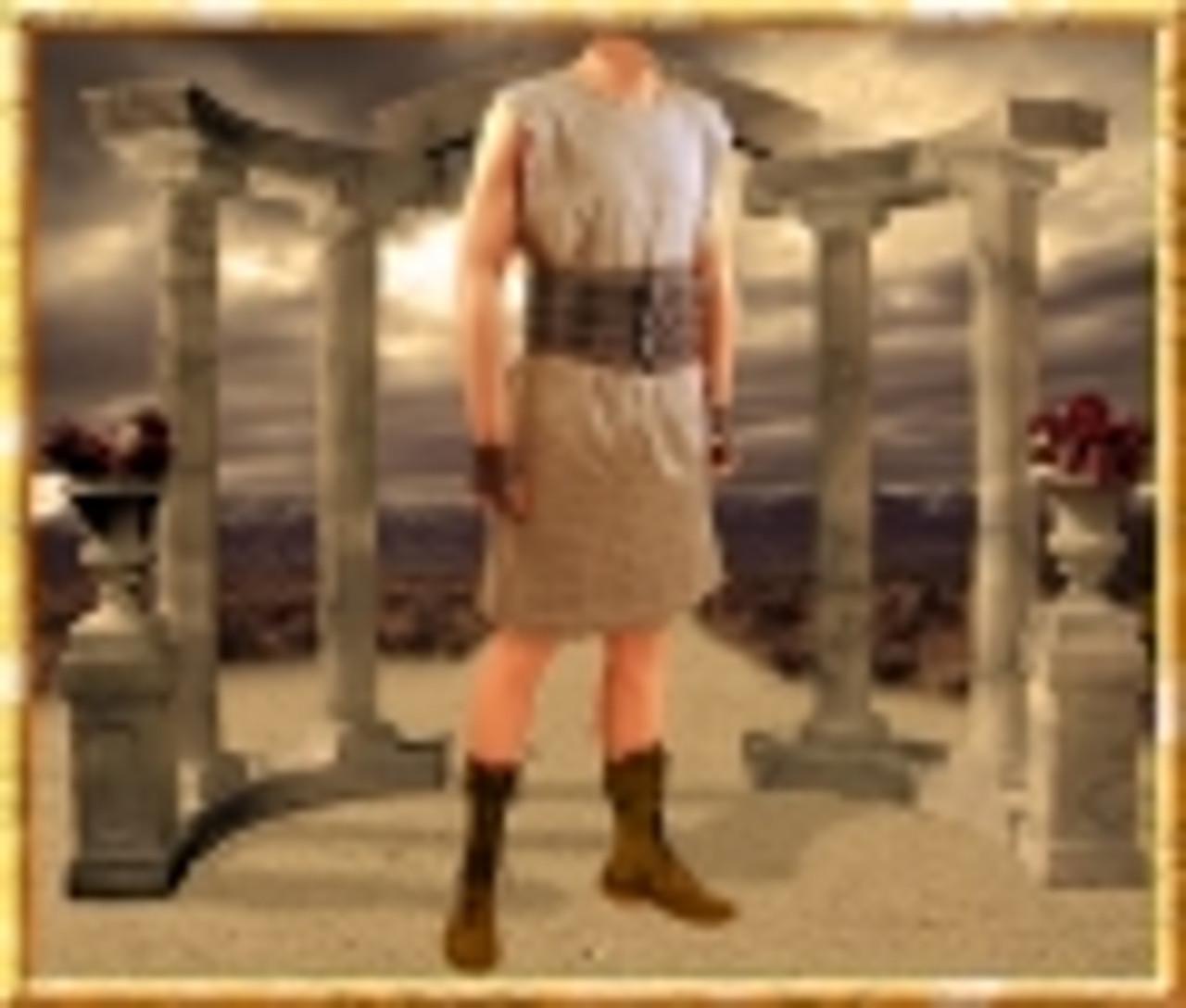 Maximus Gladiator Costume, Zucchabar