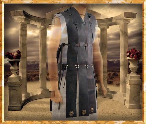 Gladiator Costume | Leather Tabard