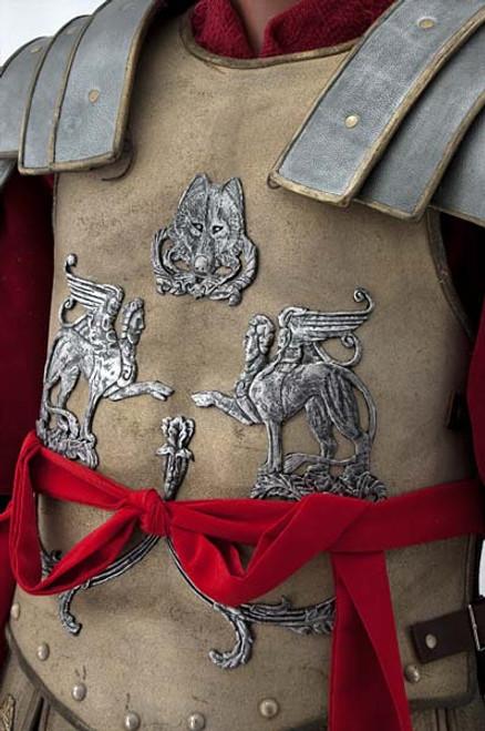 Gladiator Spaulders   Battle of Germania