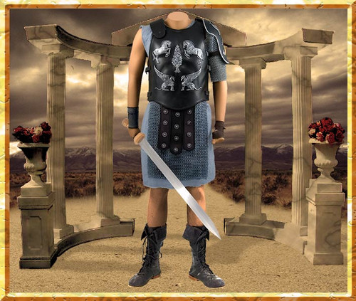 Gladiator Costume | Battle of Carthage Movie Costume