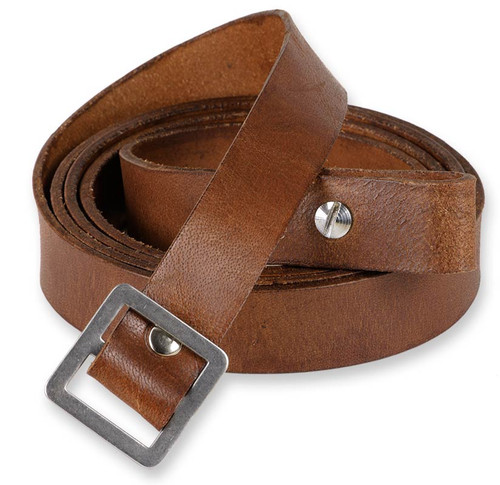 Todd's Costumes Indiana Jones leather strap for gas mask bag satchel. Great for costumes or everyday use!