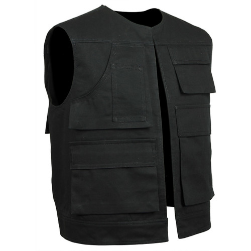 Movie accurate Black Han Solo Utility Vest