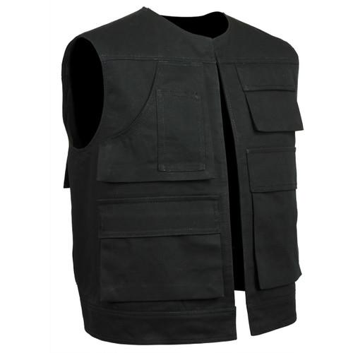 Movie accurate Black Han Solo Utility Vest