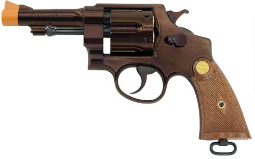 Indiana Jones Gun | Smith and Wesson Replica w/Jupiter Finish
