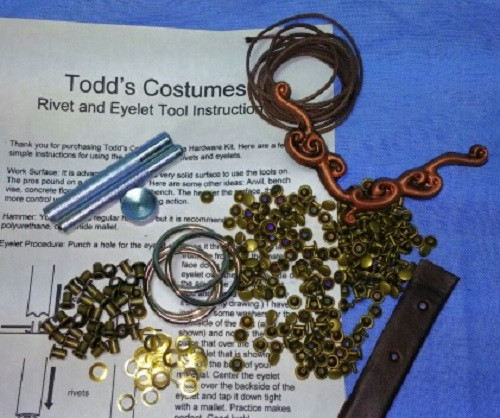 Xena Dress, Hardware Kit