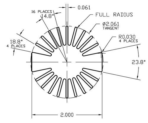 """NOTE:  Inner base circle diameter is 1.00"""""""