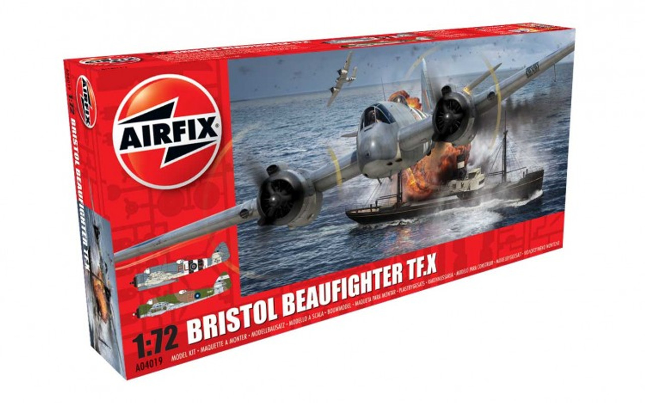 Airfix A04019 Bristol Beaufighter Mk.X 1:72 Scale Model Kit