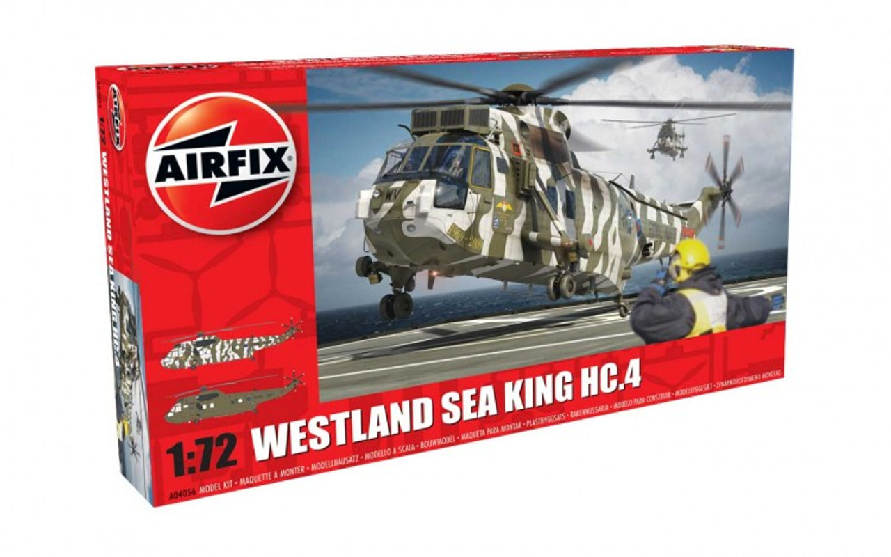 Airfix A04056 Westland Sea King HC.4 1:72 Scale Model Kit
