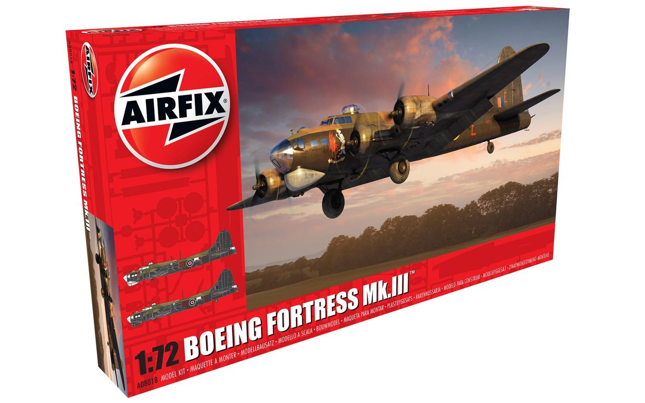 Airfix A08018 Boeing Fortress MK.III 1:72 Scale Model Kit