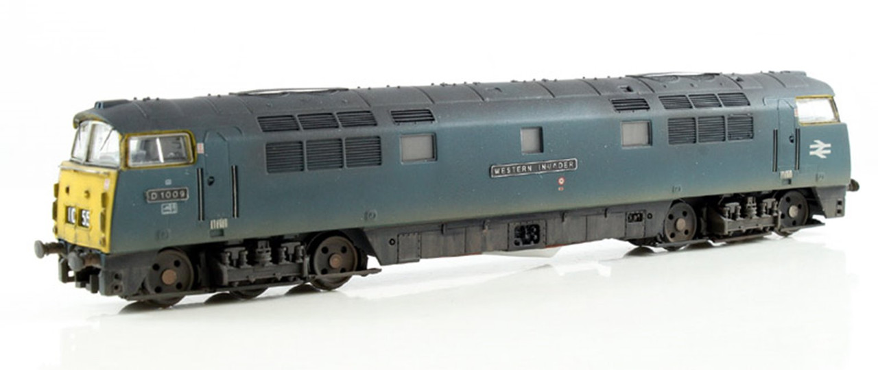 Dapol 2D-003-011 Class 52 BR Blue #D1009 N Gauge Model Railway Locomotive