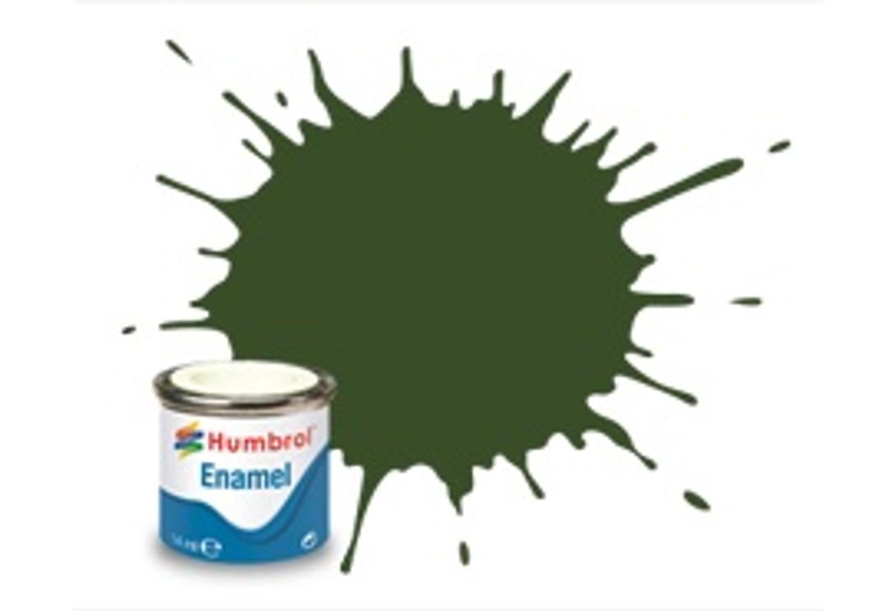 Humbrol Enamel Paint 242 RLM 71 Dunkelgrun Matt 14