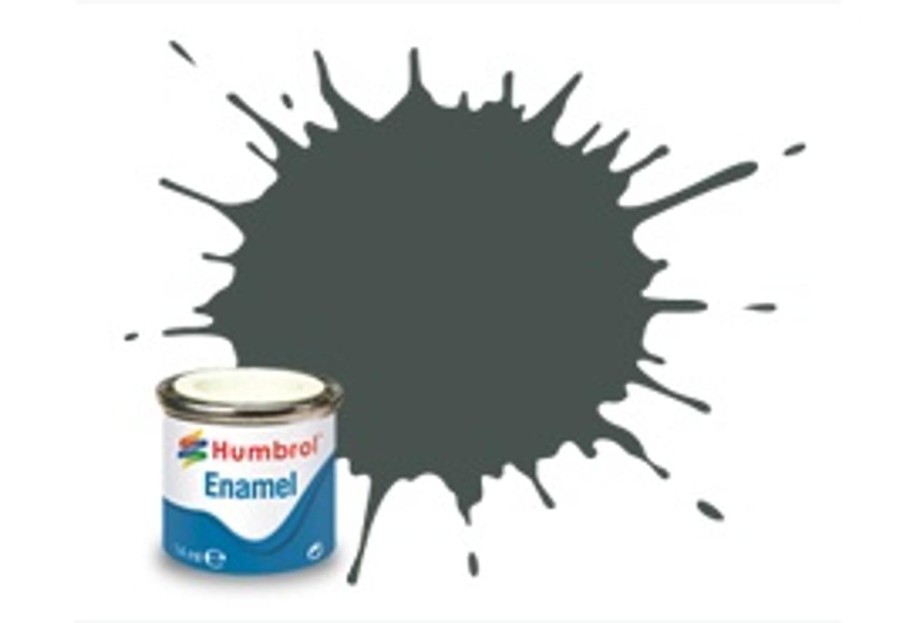 Humbrol Enamel Paint 244 RLM 73 Grun Matt 14ml