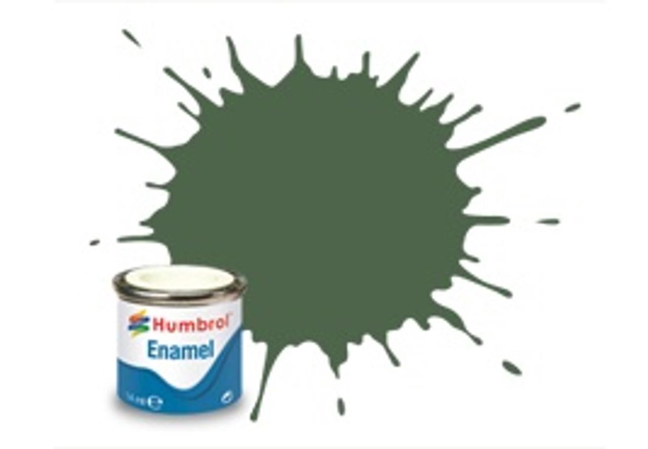 Humbrol Enamel Paint 252 RLM 82 Olive Green Matt 1