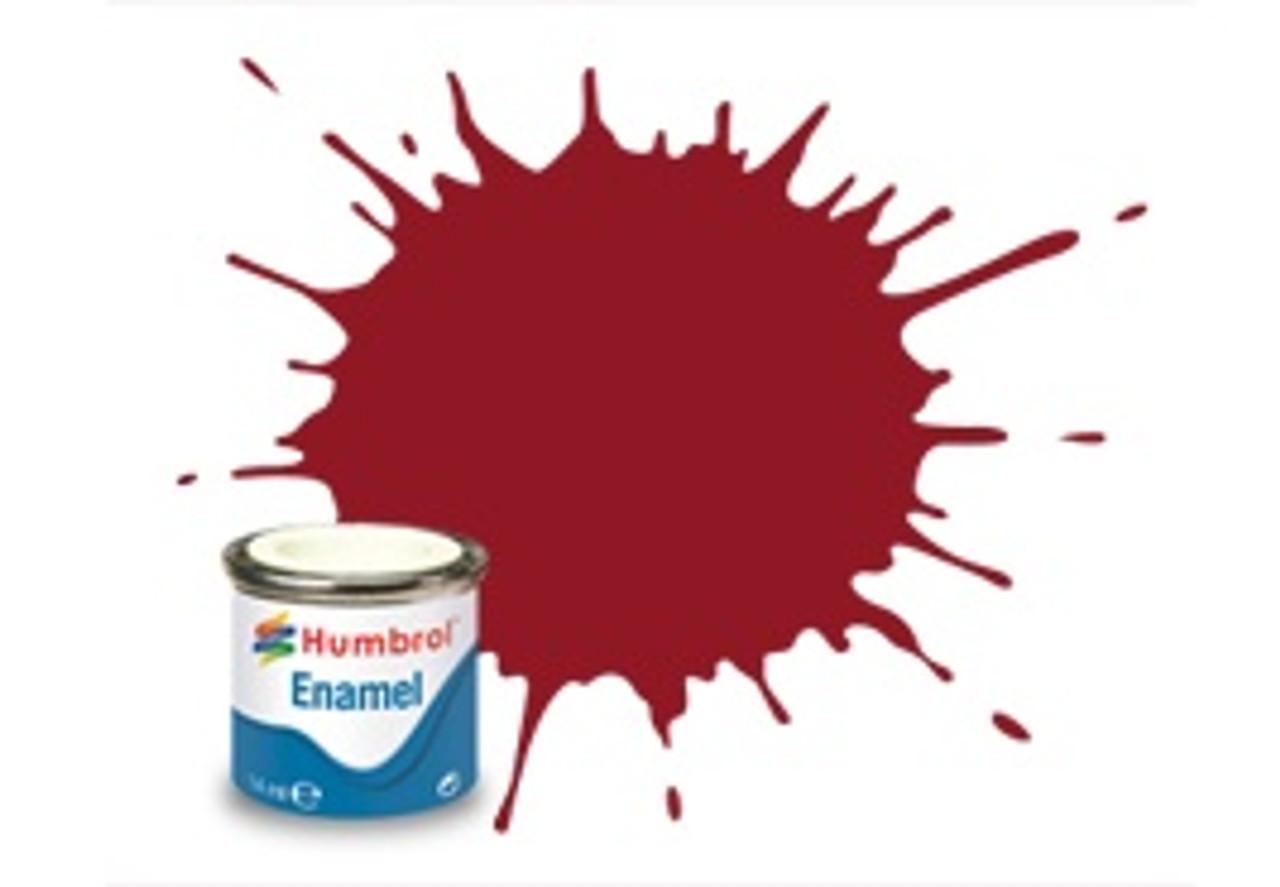 Humbrol Acrylic Spray Paint 20 Crimson Gloss 150ml