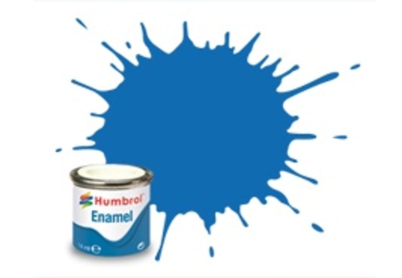 Humbrol Acrylic Spray Paint 52 Baltic Blue Metalli