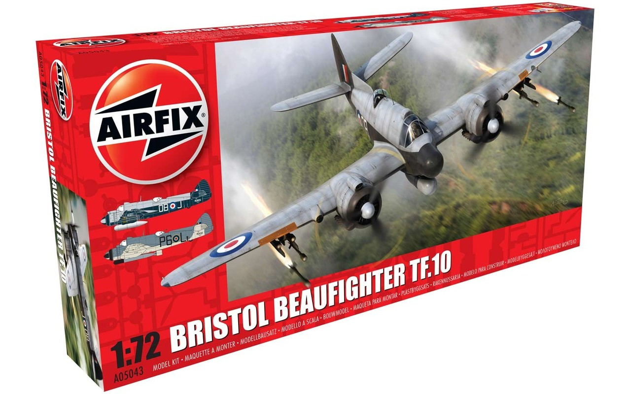Airfix A05043 Bristol Beaufighter Mk.X (Late) 1:72 Scale Model Kit
