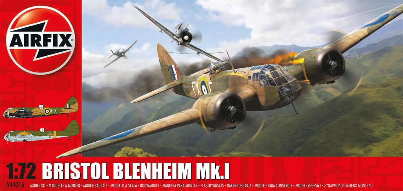 Airfix A04016 Bristol Blenheim MkI (Bomber) 1:72 Scale Model Kit