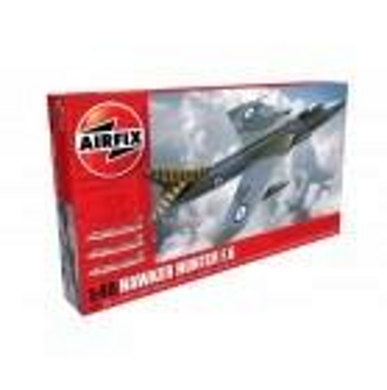 Airfix A09185 Hawker Hunter F.6 1:48 Scale Model Kit (A09185)