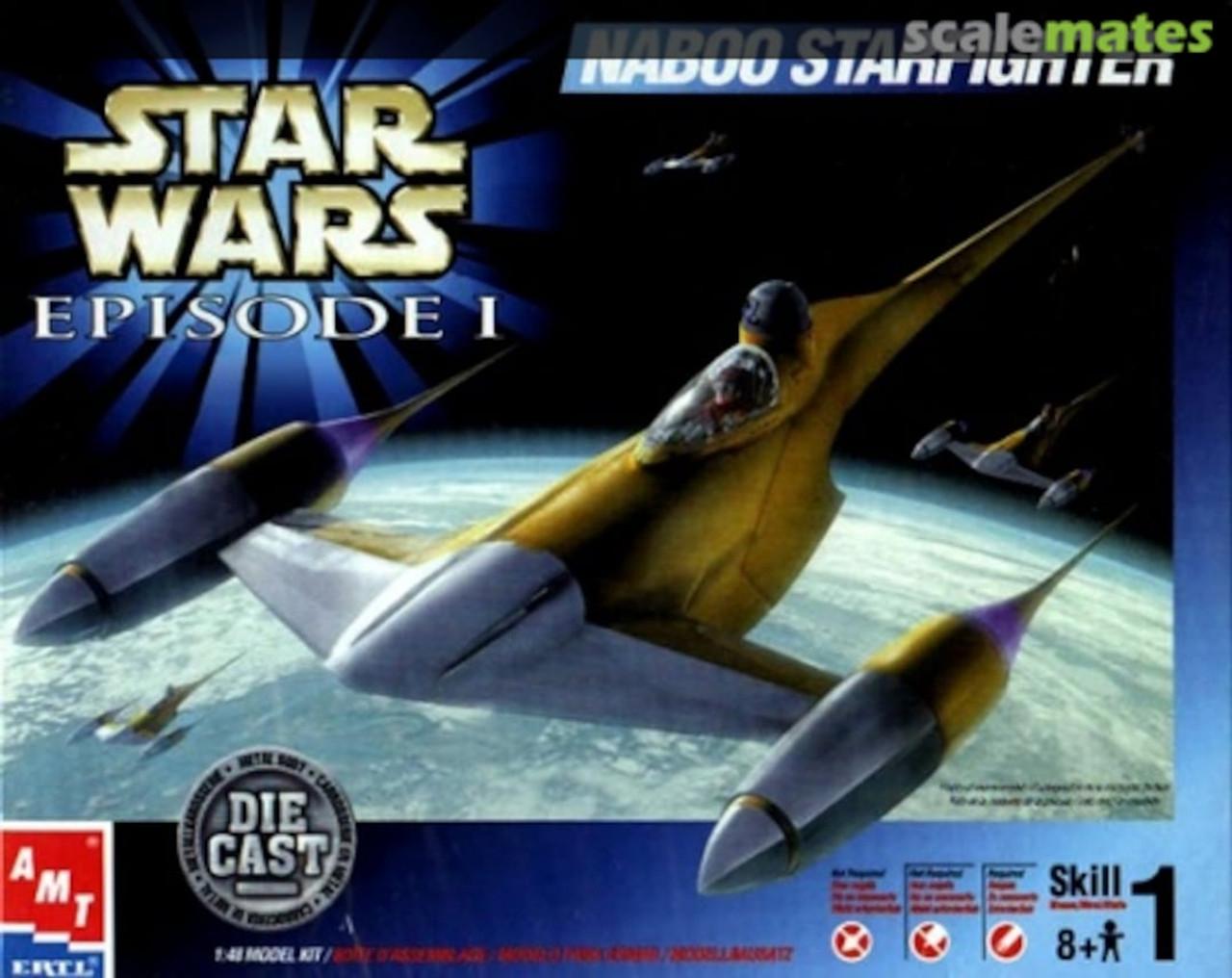 Star Wars Episode 1 Naboo Starfighter Die Cast (1:48 Scale)