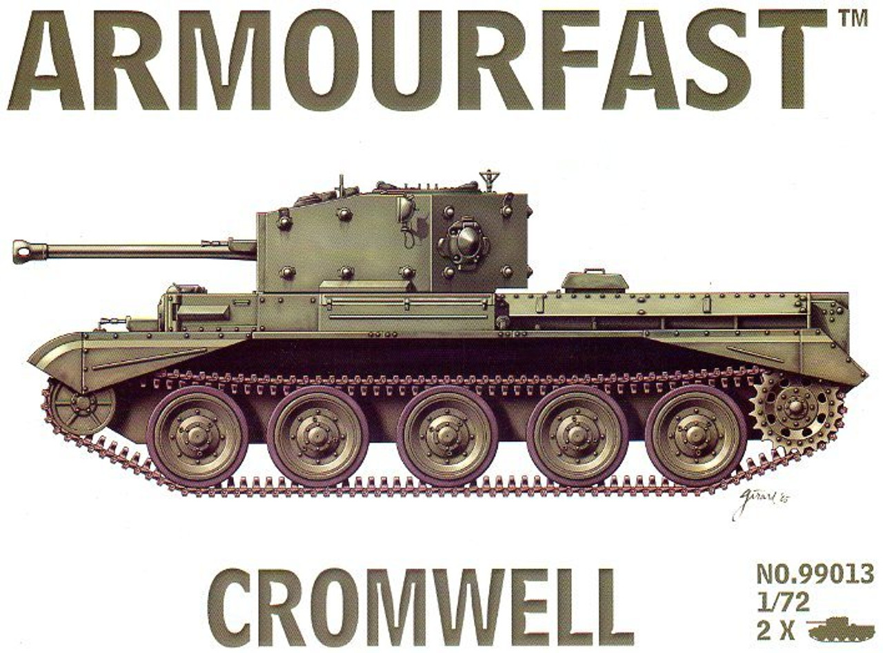 <p>Armourfast 99013 Cromwell 1:72 Scale Model Kit</p>