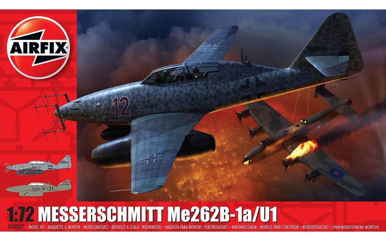Airfix A04062 Messerschmitt Me262-B1a 1:72 Scale Model Kit