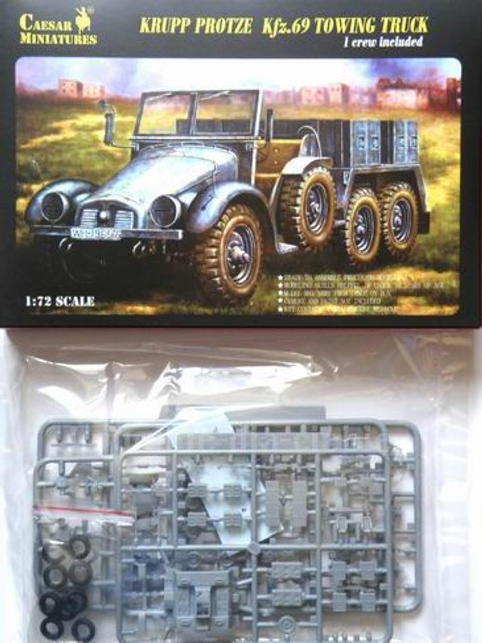 Caesar Miniatures 7203 Krupp Protze Kfg.69 Towing