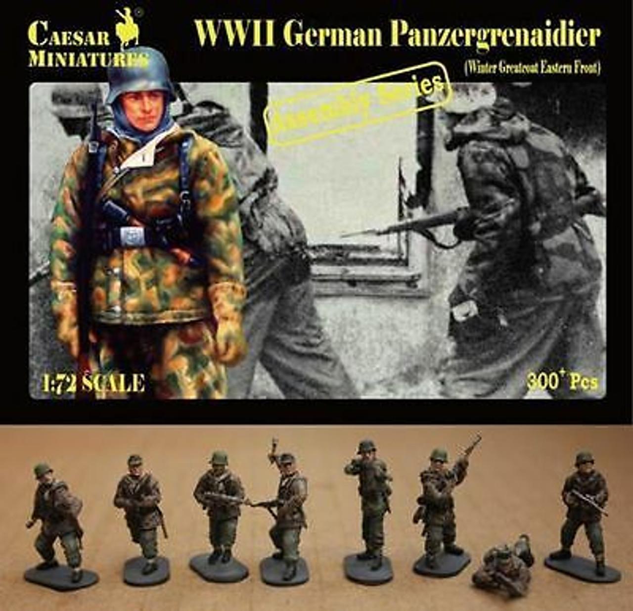 Caesar Miniatures 7714 WWII German Panzergrenaidie