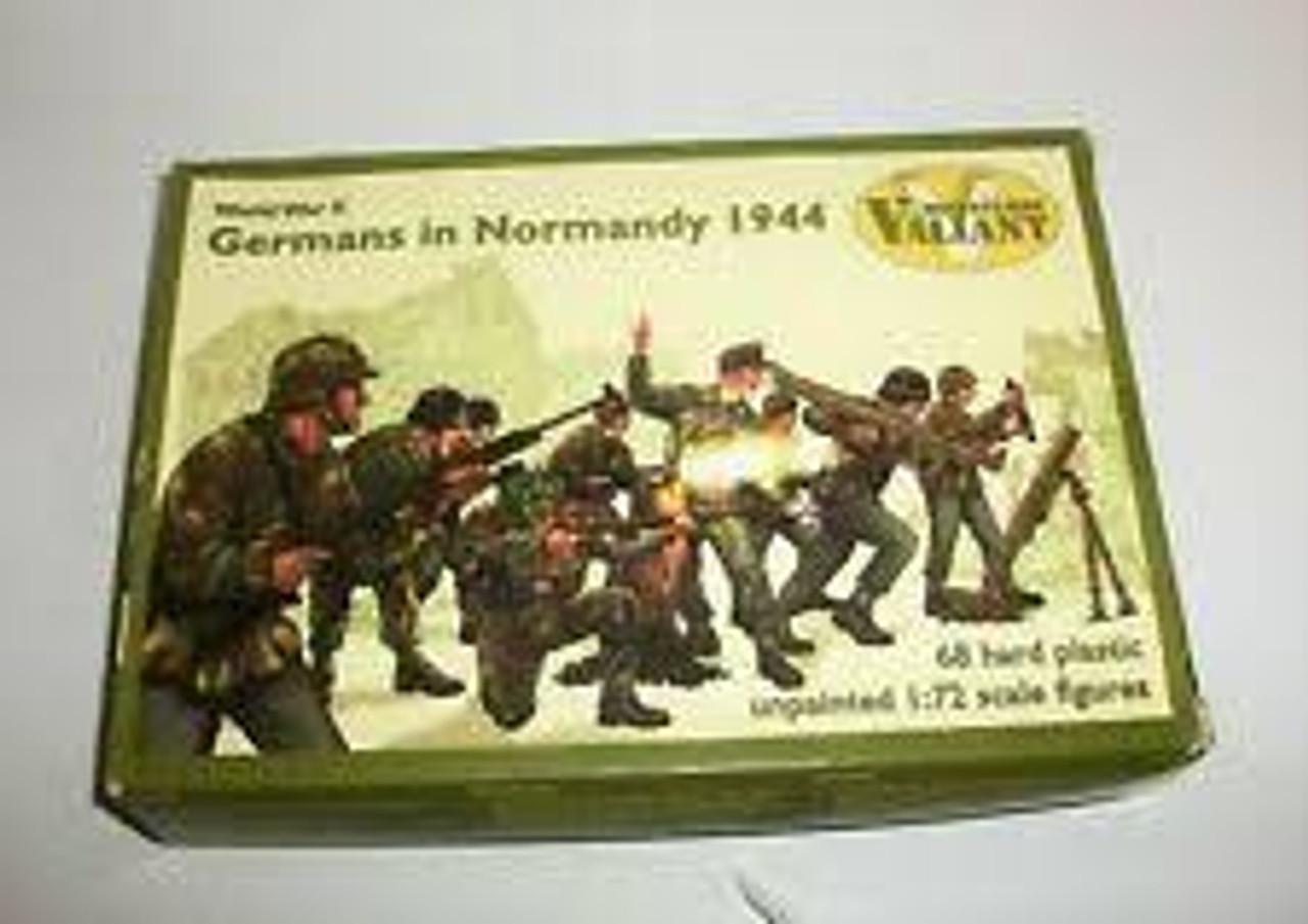 Valiant Miniatures VM004 World War II Germans In Normandy 1944- 1:72 Scale