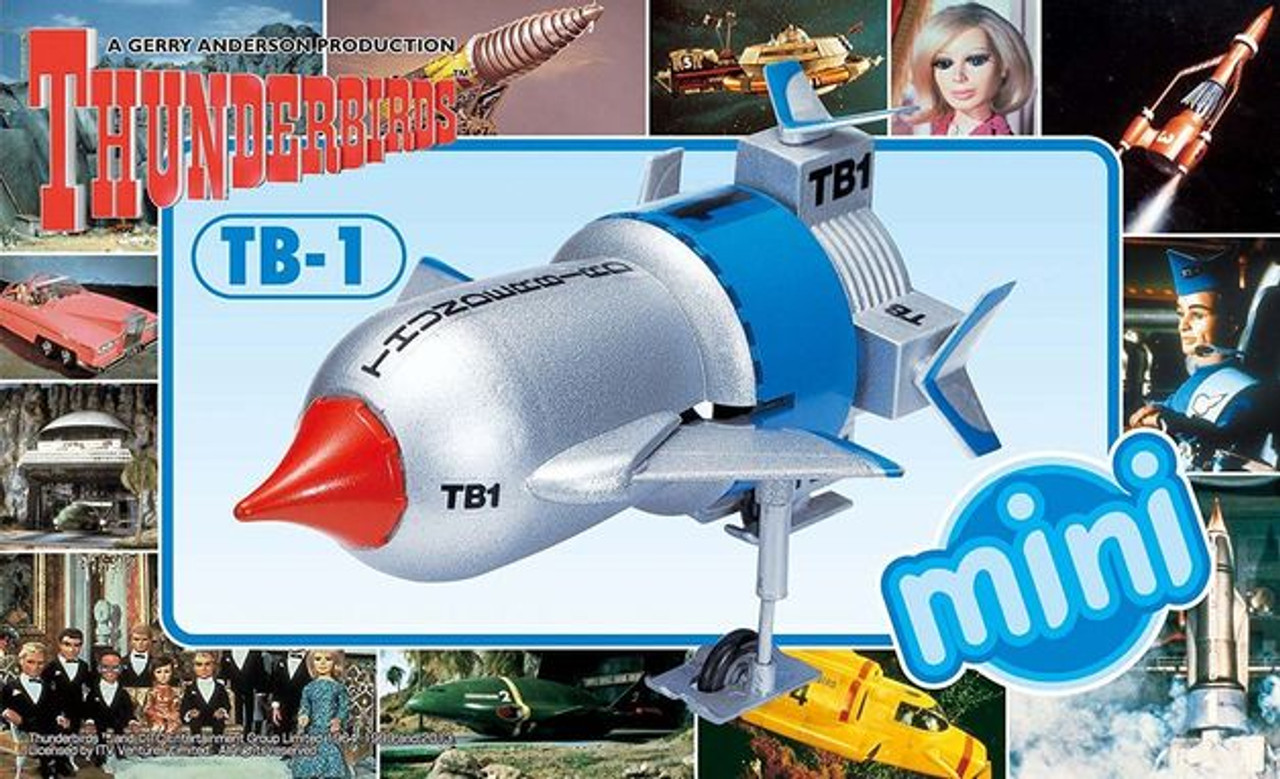 Aoshima 008355 Thunderbirds TB-1 Mini Model Kit