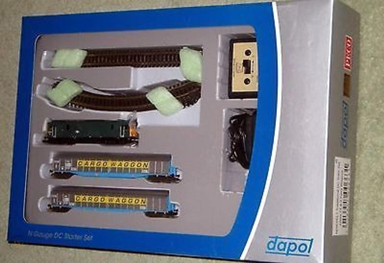 Peco NDIESEL 1 Class 73 & 2 Ferry Wagons Set 1:148 N Gauge Model Railway Accessories