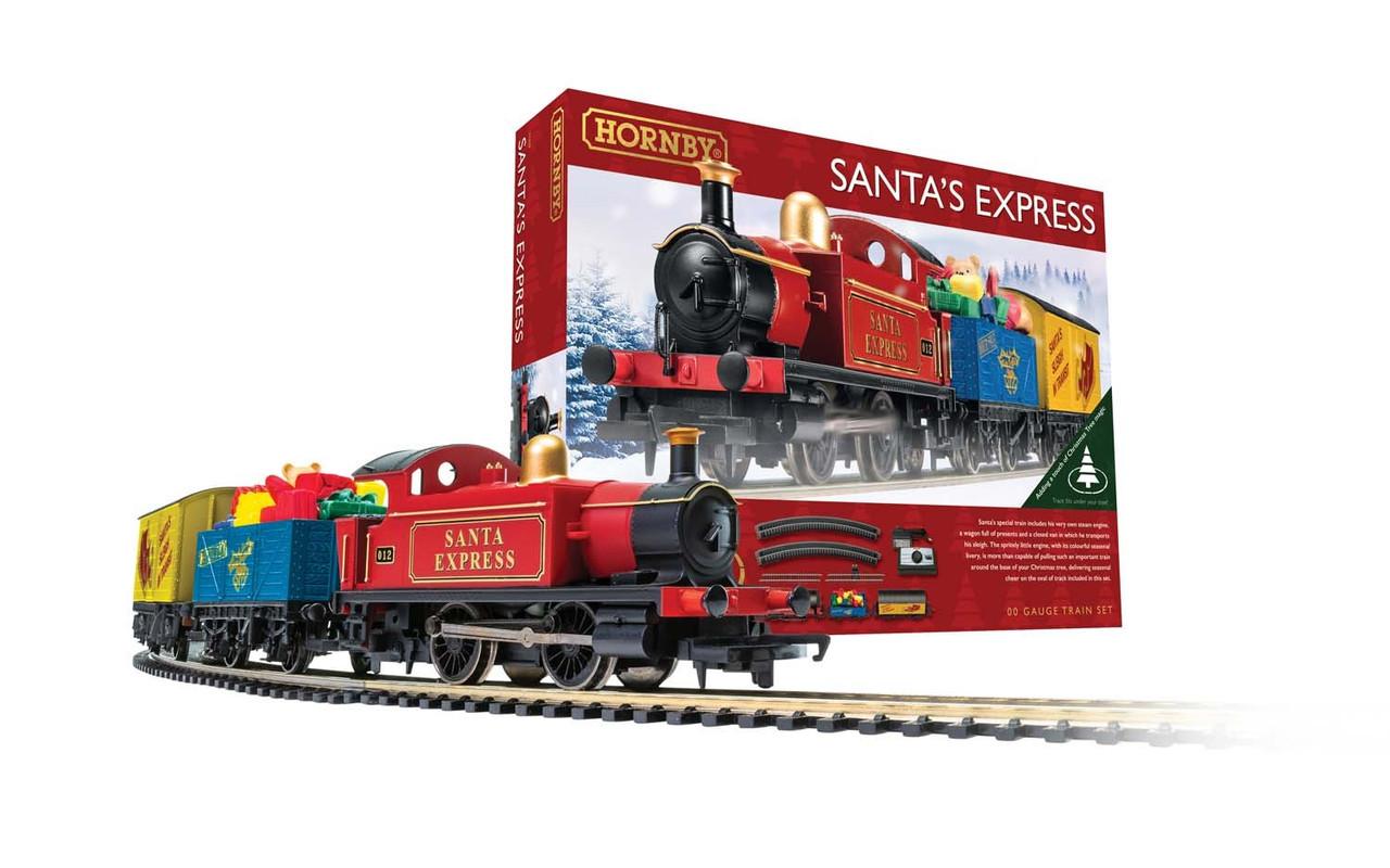 Hornby R1248 Santa's Express Christmas Train Set 00 Gauge