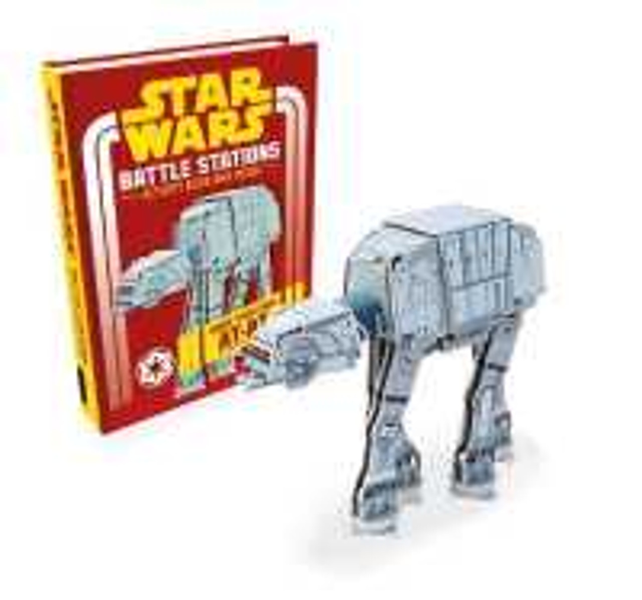 Star Wars Battle Stations - activity book and model.  Make your own AT-AT.