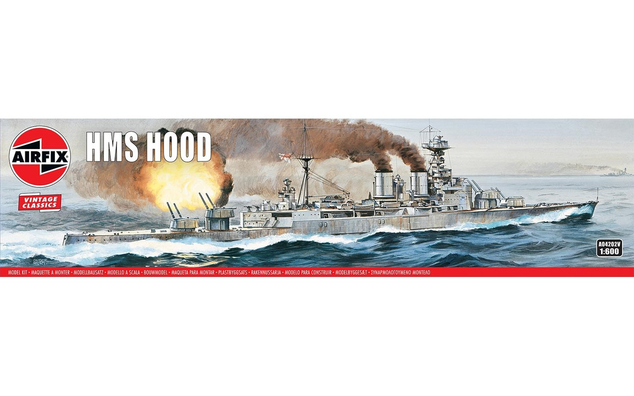 Airfix A04202V Airfix Vintage Classics - HMS Hood 1:600 Scale