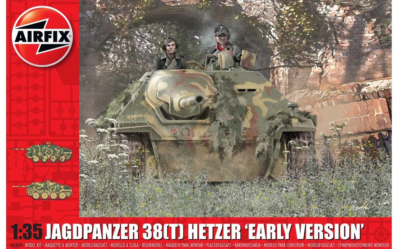 Airfix A1355 JagdPanzer 38 tonne Hetzer Early Version 1:35 Scale