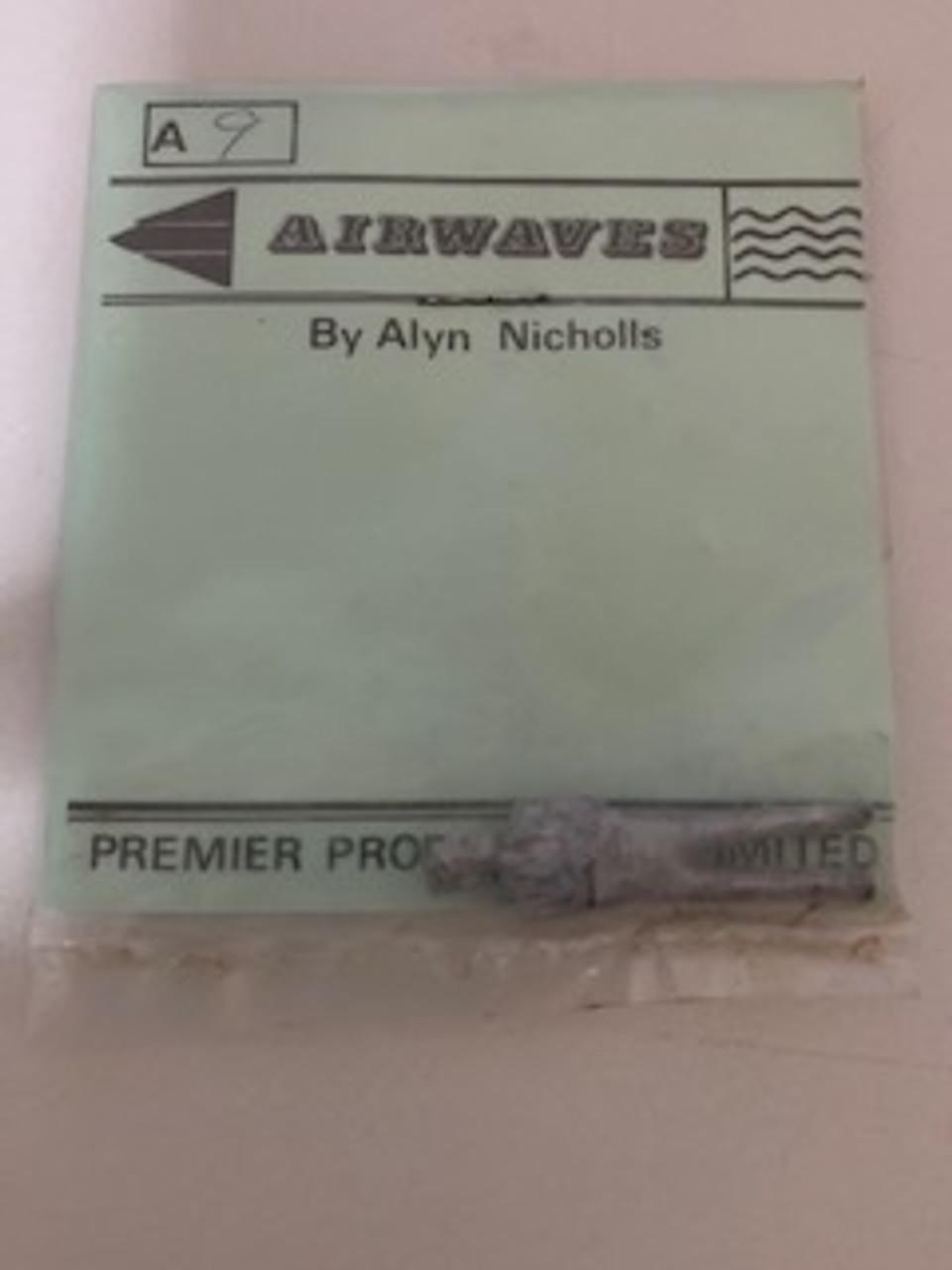 Airwaves 1:48 Soldier White Metal Figure Kit #A9 Unassembled Unpainted Model Kit