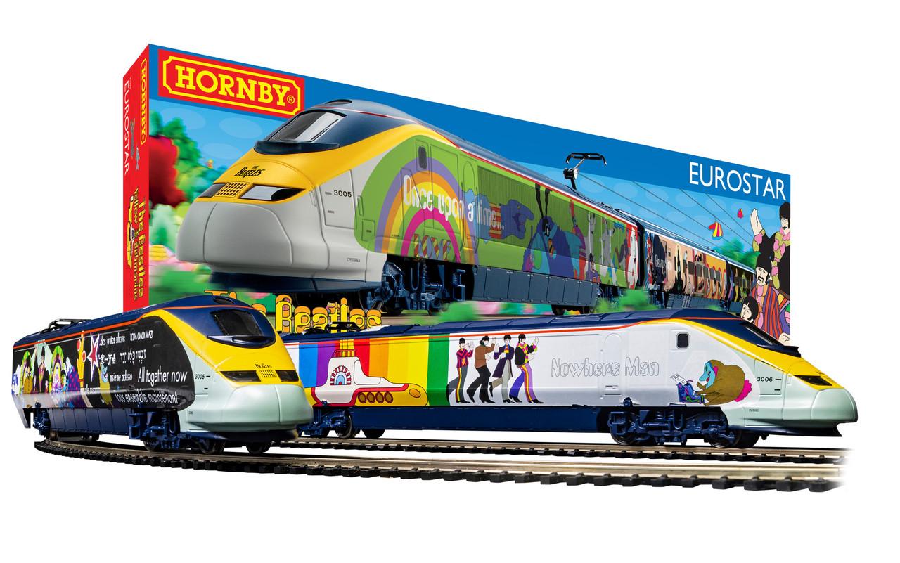 Hornby R1253M Eurostar 'Yellow Submarine' Train Set OO Gauge Scale