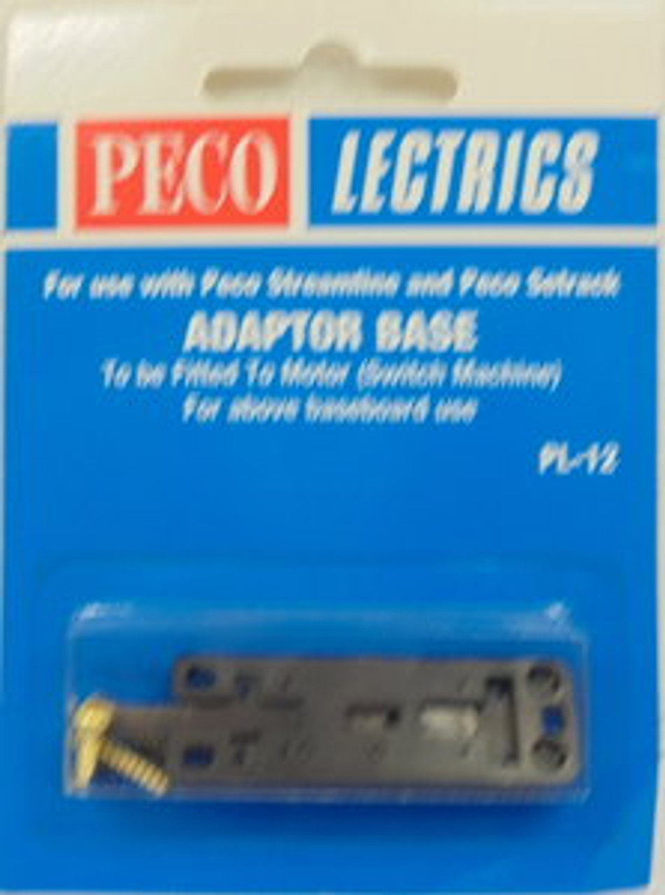 Peco Lectrics PL-12 adaptor base to be fitted to motor (switch machine)