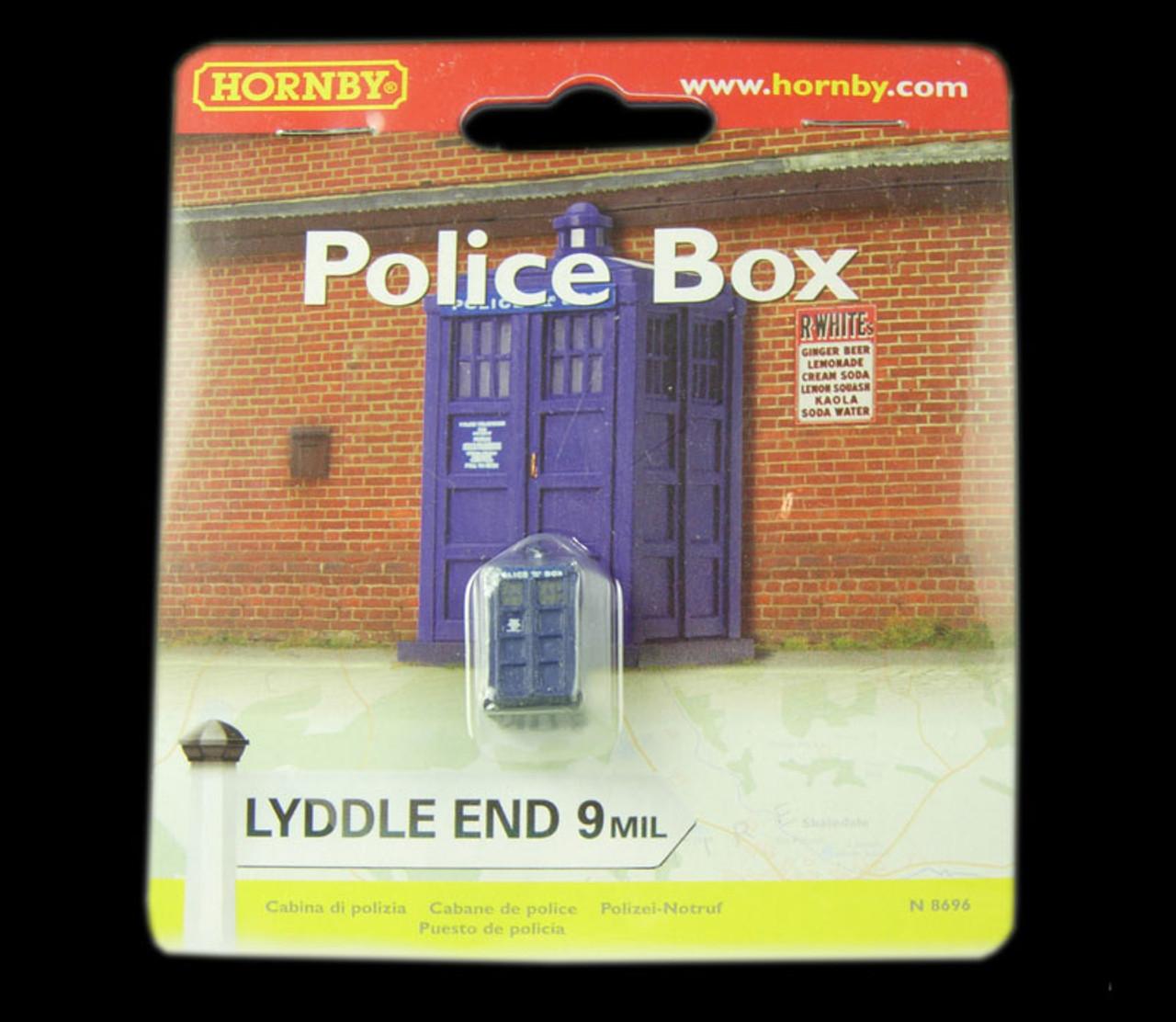Hornby N8696 Lyddle End 9mil Police Box N gauge