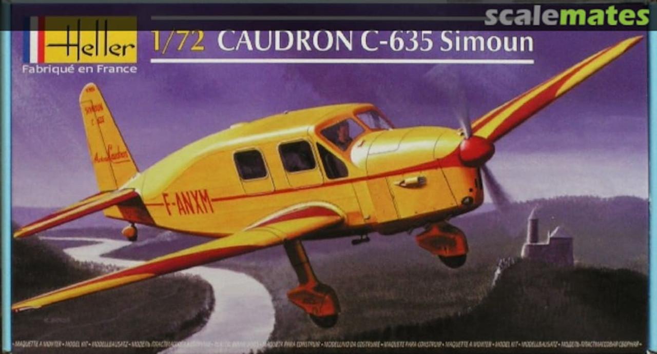Heller N0. 208 1/72 Caudron C. 635 Simoun