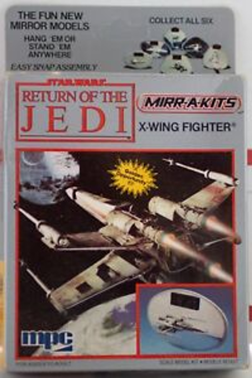 MPC 4-1101 Star Wars Return of the Jedi Mirr-A-Kits X-Wing fighter