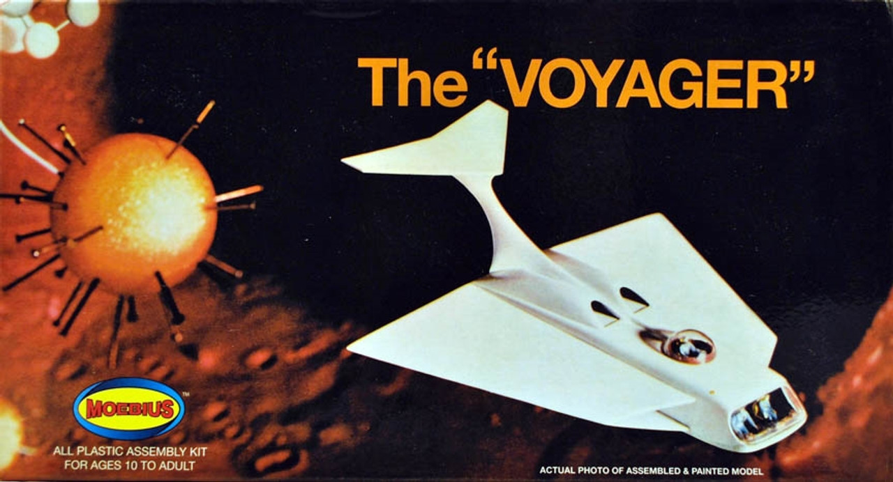 """Moebius #831 The """"Voyager"""" all plastic assembly kit"""