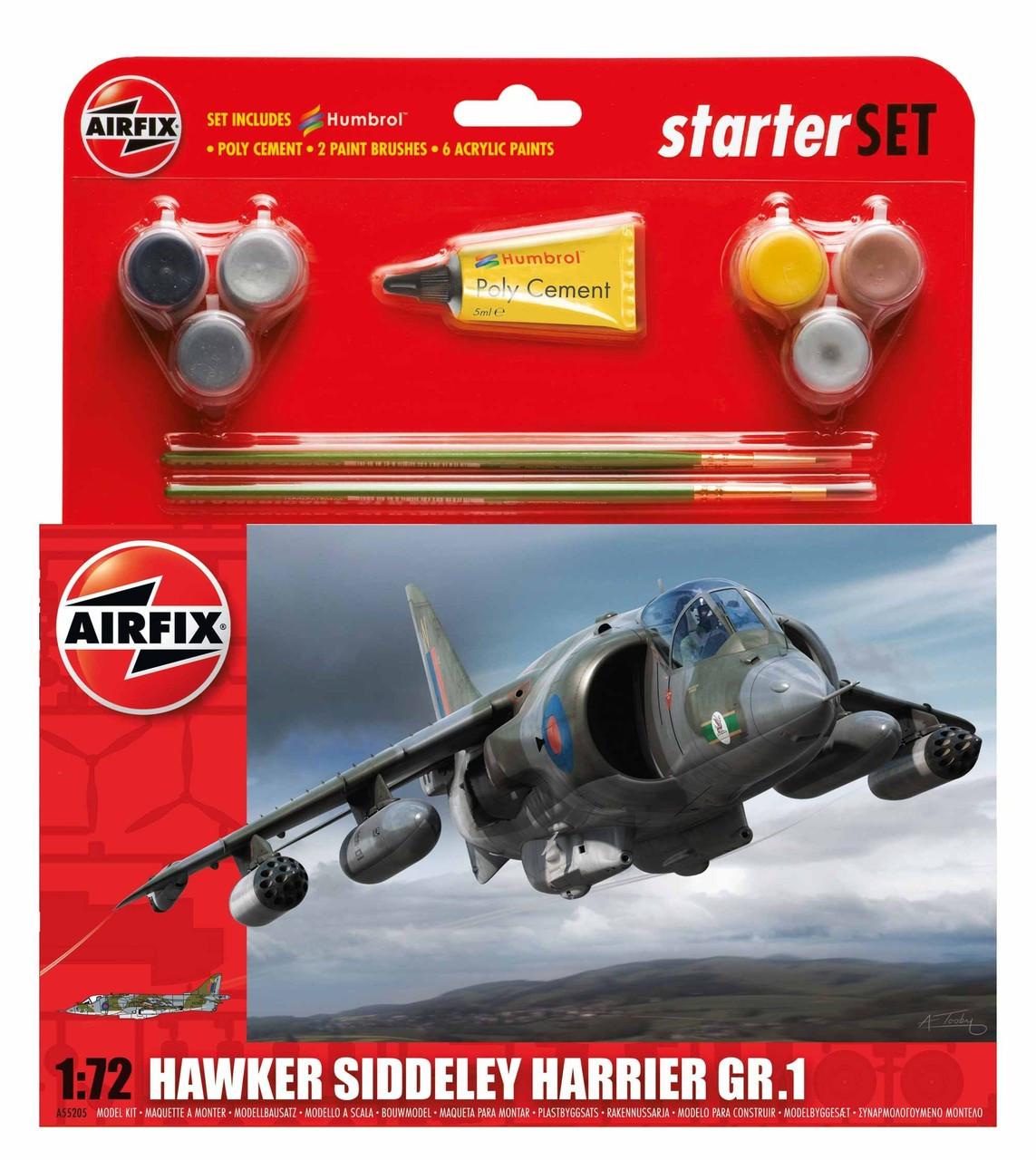 Airfix A55208 Medium Starter Set Hawker Typhoon Ib 1:72