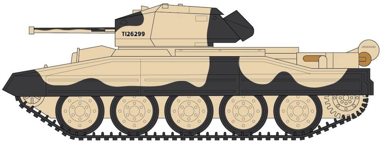 Airfix A08360 Crusader Mk.III  1:32 Scale Model Kit