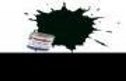 Humbrol Acrylic Paint 91 Matt Black Green 12 ml Ja