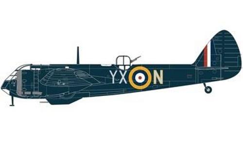 Airfix A09186 Bristol Blenheim Mk.IF 1:48 Scale Model Kit