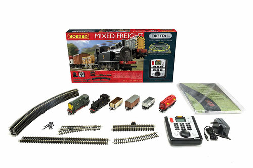 Hornby R1126 Mixed Freight DCC Train Set 00 Scale