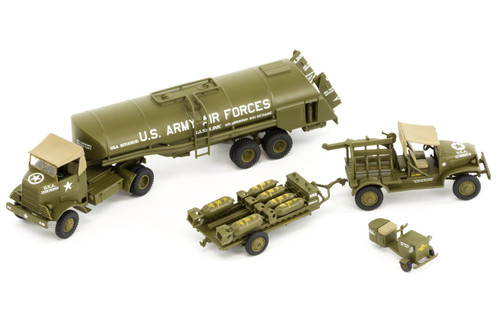 Airfix A06304 USAAF 8th Air Force Bomber Resupply Set 1:72 Scale Model Kit