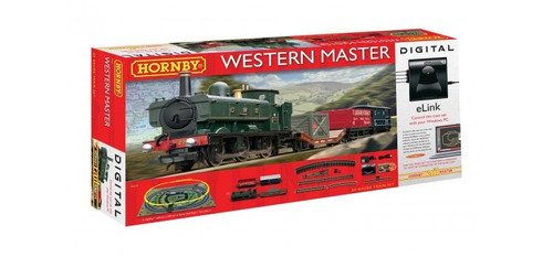 Hornby R1173 Western Master With e-Link DCC Train Set 00 Scale