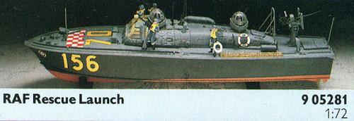 Airfix A05281 RAF Rescue Launch 1:72 Scale Model Kit