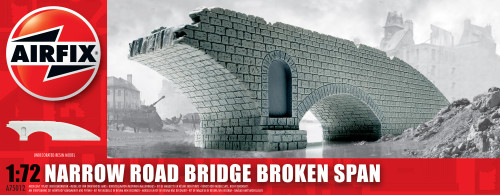 Airfix A75012 Narrow Road Bridge Broken Span 1:76 Scale Model Kit